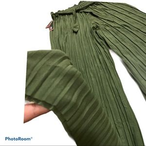 🌪Dress pants PLEATED in green